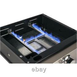 268 sq. In. 12,000BTU Table Top Propane Griddle