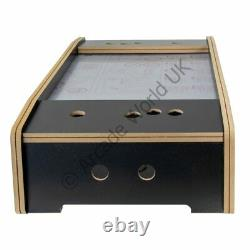 2 Player Table Top Cocktail Arcade Cabinet Kit Black