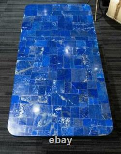 36x24 black marble table top blue lapis malachite coffee center inlay fancy