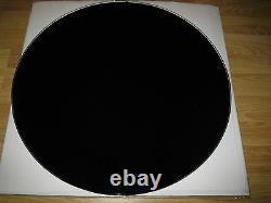 50cm Round Black Tint Glass Tempered Toughened 500mm Table Top 8mm Thick Safety