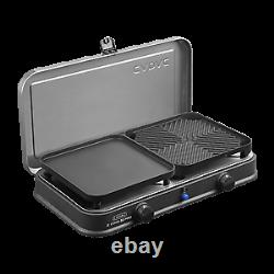 Cadac black 2 cook 2 pro deluxe qr table top gas barbecue