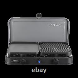 Cadac black 2 cook 2 pro deluxe table top gas bbq