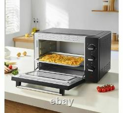 Electric Small Mini Oven Mobile Compact Table Top Cooker Grill Bake Roast Timer