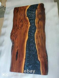 Epoxy Resin Dining Table Top 72x36inch in 35MM Thickness in Acacia Wood (Top)