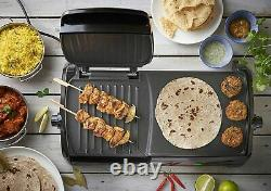 Large Electric Grill & Griddle Non Stick Table Top Cooker Toaster Maker Machine