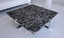 Modern Coffee Table Marble Top Coffee Table End Table Center Table Circle