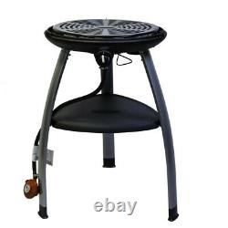 NEW Outback Trekker Portable Gas BBQ Black Garden Camping FREE Table Top Legs