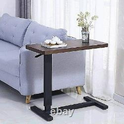 Overbed table Bedside table with height-adjustable top bed mobile device