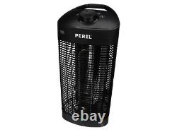 Perel PHT2000 Revolving Table Top Patio Heater Outdoor Heating 1200W
