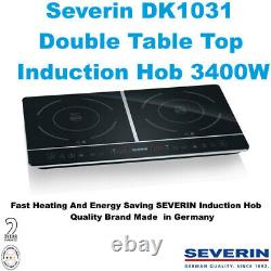 Severin DK1031 Double Table Top Induction Hob 3400W