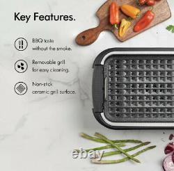 Smokeless Grill Indoor BBQ Barbecue Non Stick Machine Electric Table Top