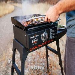 Table Top Gas Griddle Outdoor Portable Burner Barbecue Grill Flat Top Cooker 17