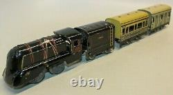 Vintage Pre-war French Jep Sncf Small Stream Line Ho-gauge Table Top Train Set